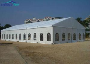 China Big Size White Waterproof PVC Aluminium Frame Marquee Tent For Temporary Outdoor Event on sale
