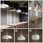 Festival Bar Restaurant Cafe dining room simple Aluminum Shade home decorate lamp customized ceiling light TH104