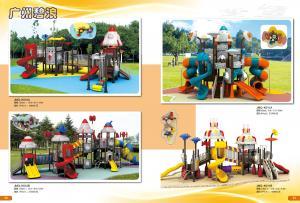 China playground slide, outdoor playground equipment guangzhou on sale