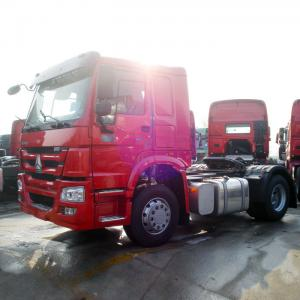 China WD615.62 Engine 4x2 Prime Mover Truck 6 Wheels 290hp With Weather Resistance on sale