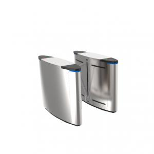 China Handicap Flap Barrier Optical Barrier Turnstiles Entry Systems For High End Place on sale