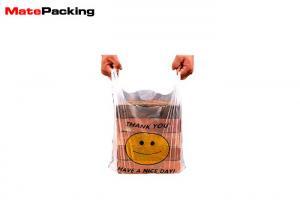 China Eco Friendly 100% Biodegradable Packaging Bags PLA Plastic Vest Bag T Shirt Custom Logo on sale