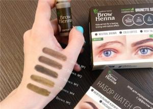 China OEM / ODM Tattoo Accessories / Microblading Brows Henna For Beauty Makeup on sale