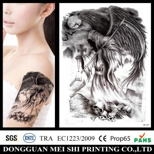 China Large Gold Foil Temporary Arm Tattoo Stickers Water Transfer Paper Waterproof on sale