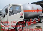 CLW brand best price lpg gas tank transported truck for sale, propane gas tank dispensing truck for sale, lpg gas truck