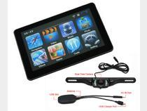 China 720p 5 inch car gps and reverse camera with bluetooth for automotive on sale