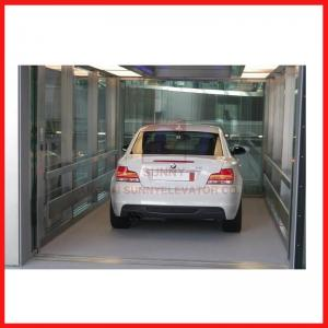 China Infrared Protection Car Lift Systems Speed 0.25m/s Simple Operation with High Quality for Car Elevator on sale