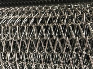 China Adjustable Pitch Flexible Conveyor Belt For Food Freezering Conveyor Anti - Corrosion on sale