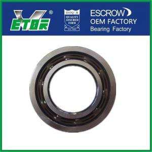 China Chrome Steel Material Angular Contact Ball Bearing High Axial Load Anti Friction on sale