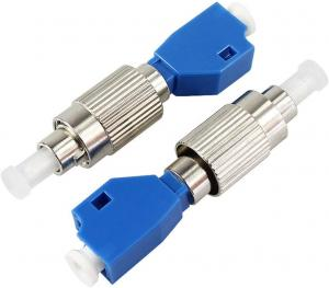 China FC Male To LC Female Fiber Optic Adapters SM MM62.5 MM50 Optional Simplex Type on sale