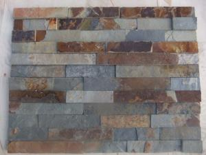 China Culture stone /Stone Venner , Culture Slate , Slate Culture Stone 600x150x20-25mm on sale