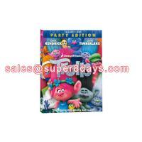 Wholesale TROLLS Blu-ray Disney DVD Movies Cartoon Blue Ray DVD New Released