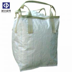 China U Panel Type Bulk Storage Bags , 1 Ton Super Sacks For  Sand Cement on sale