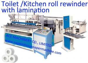 China 2600mm Rewinding Toilet Paper Making Machine on sale
