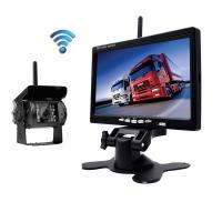 2.4g Wireless Car Rear View Camera System IR Camera Parking Aid System