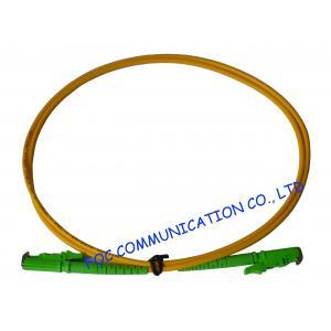 China LSZH Jacket Corning Fiber Optic Patch Cord E2000 APC Customized on sale