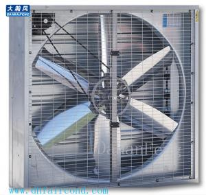 China DHF Belt type 400mm exhaust fan/ blower fan/ ventilation fan motor upside on sale