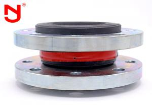 China Pipe Fittings Pipe Rubber Bellows Expansion Joint Single Sphere DN32 - DN3000 supplier