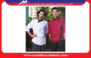 China Short Sleeve Fit Custom Chef Uniforms Restaurant Uniforms for Waiter or Waitress on sale