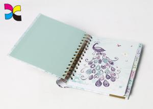 China Eco - Friendly Custom Cover Wire - O Spiral Notebook Printing For Office & School on sale