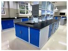 China Long Lifetime Chemical Laboratory Furniture Wood - Steel Material 1500*850MM on sale