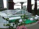 500 People transparent Luxury Wedding Tent With Decoration For Outdoor Activities