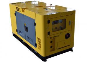 China 25kva Silent Generator Set / Smartgen 20kw diesel generator for house camping on sale