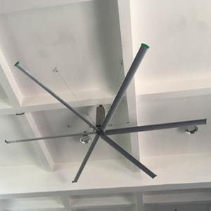 China 6m warehouse hvls industrial ceiling fan large air flow 20feet diameter 50rpm roof 6 blades on sale