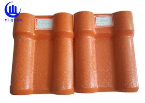China New Type ASA PVC Syntetic Resin Roof Tile Board Plastic Bamboo Roofing Sheets on sale