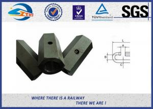 China High Tensile Joint Nut 40Cr Hex Coupling Nut for Railway Fastening Connector on sale