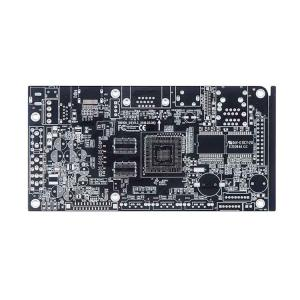 China Lead-Free HASL Double-Sided PCB Circuit Board with Black Soldermask on sale