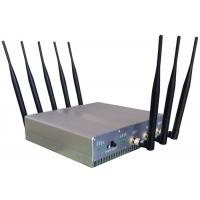 Omni Directional Cell Phone Signal Jammer with UPS battery For Schools , 210*50*185mm