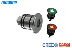 China Exterior RGBW IP68 4W Mini LED Pool Lights with WIFI / DMX Controller on sale