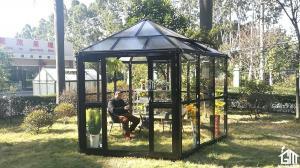China 4 Seasons Harvest Easy DIY Sun Room - 390 X 343 X 290CM (L X W X H) on sale