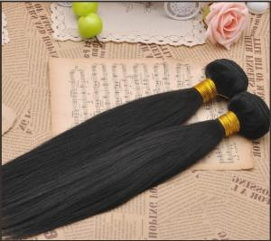 China Hot selling! 6A grade peruvian hair weft, 100% human hair extension on sale