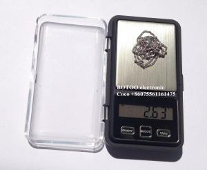 China 5 Different Weighing Unit Digital Pocket Scales 0.01g With 1 * CR2032battery on sale