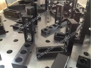 China 3D Welding table and accessories (Steel & cast iron) on sale