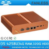 Windows intel mini pc with Intel Core i5 4258U 2.4Ghz Onboard SIM Card Slot Mini PC Fanless