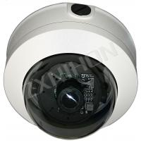 CE Waterproof IR Vandalproof Dome Camera With Sony / Sharp Color CCD