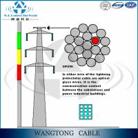high tensile galvanized tension clamp employed to ADSS/OPGW ground wire
