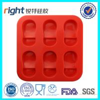 Nice silicone soap mould home made silicone cake mould
