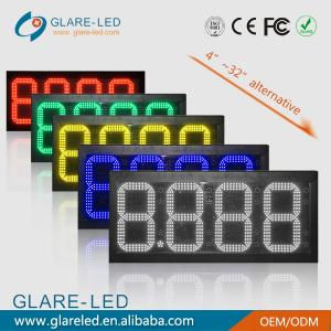 China México Outdoor waterproof IP65 led gas station led sign led digital advertising screen on sale