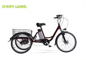 "China Pedal Assisted Electric Trike Bike 26"" Wheel Wave With Lithium Battery on sale"
