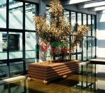 Rot Resistance Composite Garden Planters Environmental Friendly 1200x1000x536mm