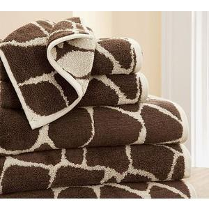 China 20% polyester 80% cotton jacquard colorbar fancy bath towels on sale