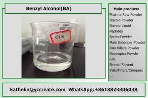 China Solvent - Benzyl Alcohol BA Bodybuilding Legal Steroids For Injection Steroid Liquid Homebrew on sale