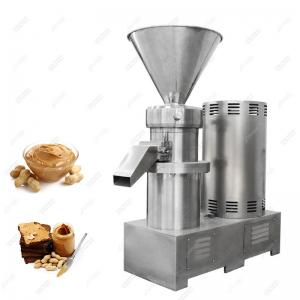 China Industrial Price Almond Butter Grinder Making Machine India Peanut Butter Colloid Mill on sale