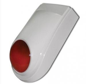 China Anti-Tamper Waterproof Outdoor Wireless Buglar Alarm Siren Optional multiple wireless detector on sale