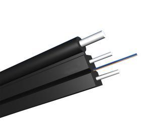 China 2 Core Fiber Optic Patch Cord Single Mode , FTTH Fiber Optic Drop Cable on sale