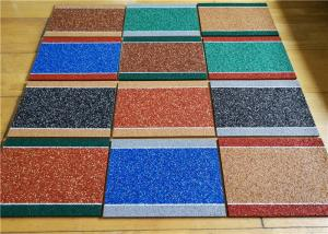 China Durable Colored Rubber Granules , Heavy Duty Odorless Mesh Crumb Rubber on sale